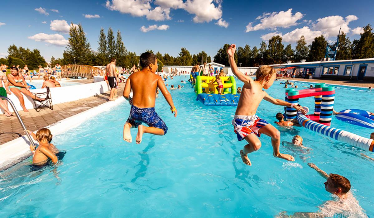 Childish Fun In Boden Swedish Lapland