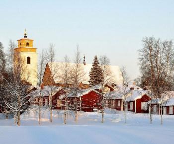 Church Town Of Gammelstad