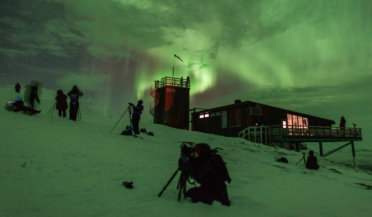 world s best place for seeing the northern lights swedish lapland