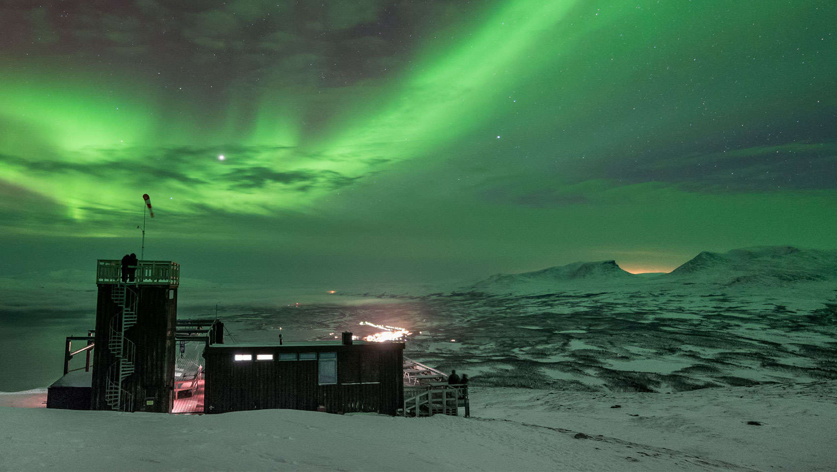 Worlds Best Place For Seeing The Northern Lights