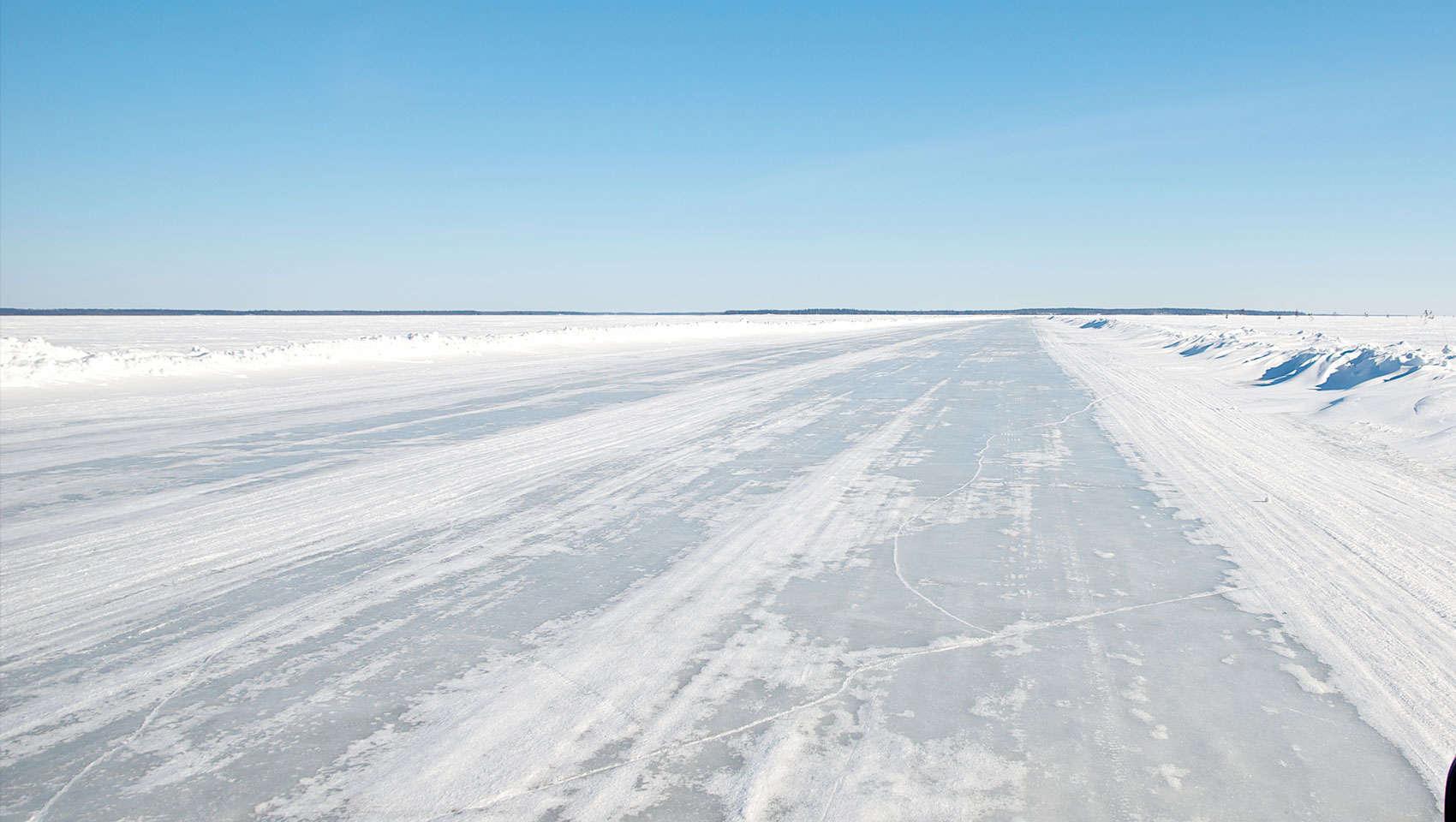 Walking on water in Luleå - Swedish Lapland