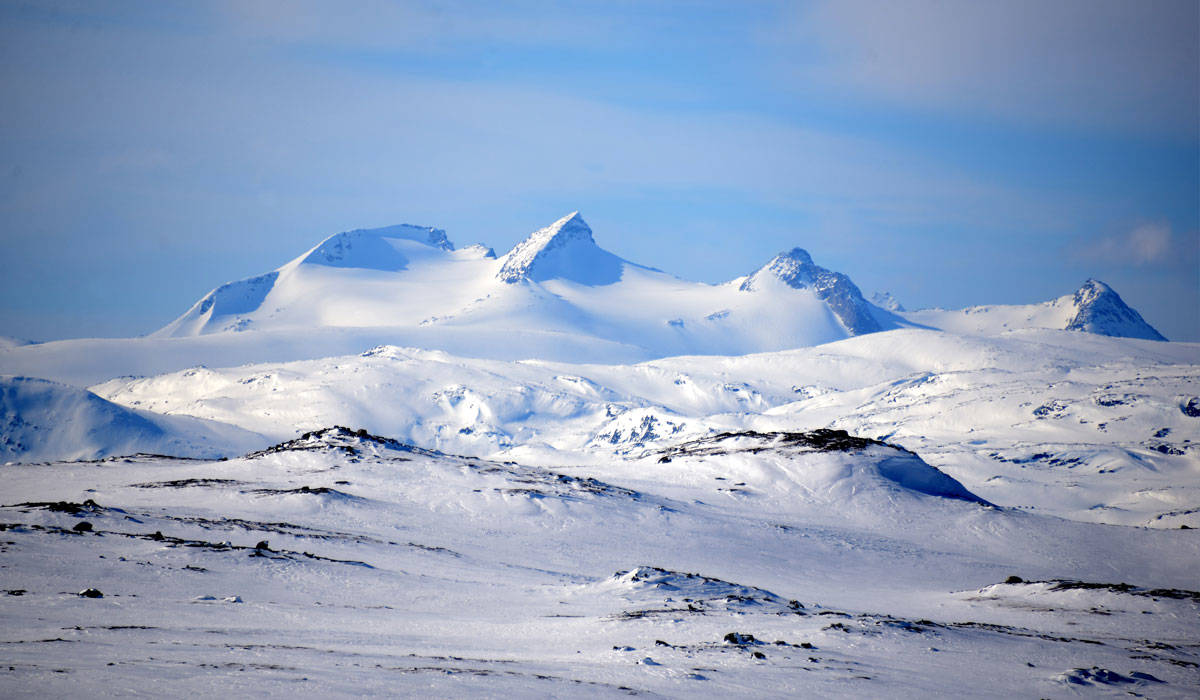 Kungen av alla vandringsleder - Swedish Lapland