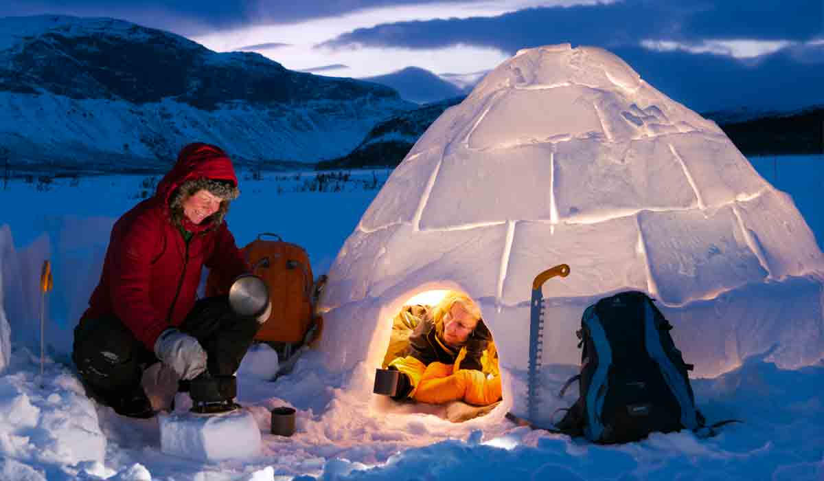 Build Your Own Igloo Stay The Night And Live To Tell The