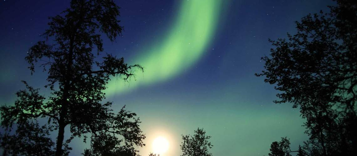 Northern lights, not necessarily easy to photograph