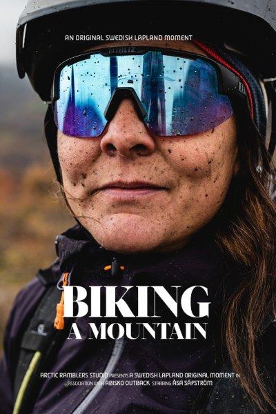 video poster biking