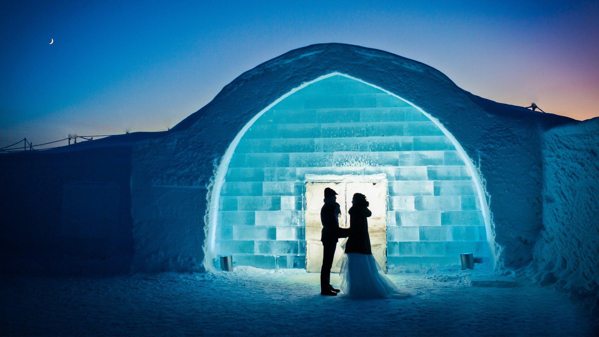 icehotel, wedding, asaf kliger, 1920 1080