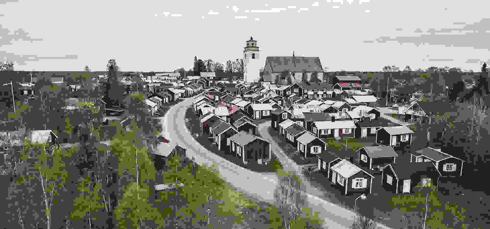 gammelstad kyrkstad, kyrka, ted logart, 1920 x 1080