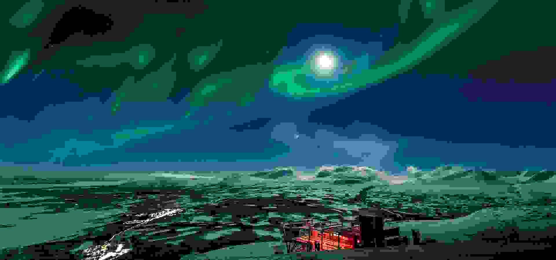 northern lights, ted, Abisko, 1920 1080