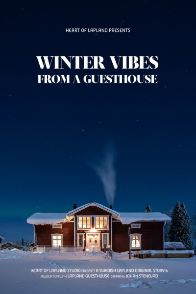 video poster lapland guesthouse