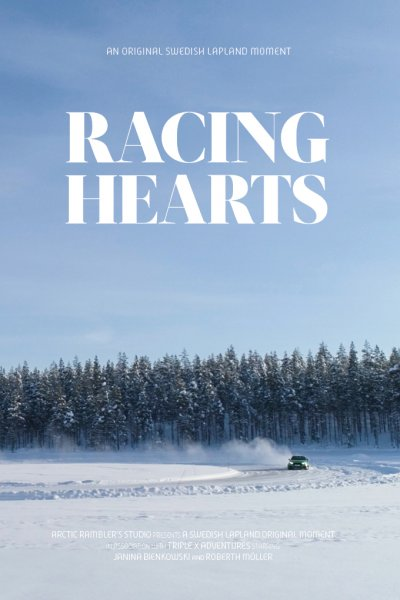 video poster racing hearts