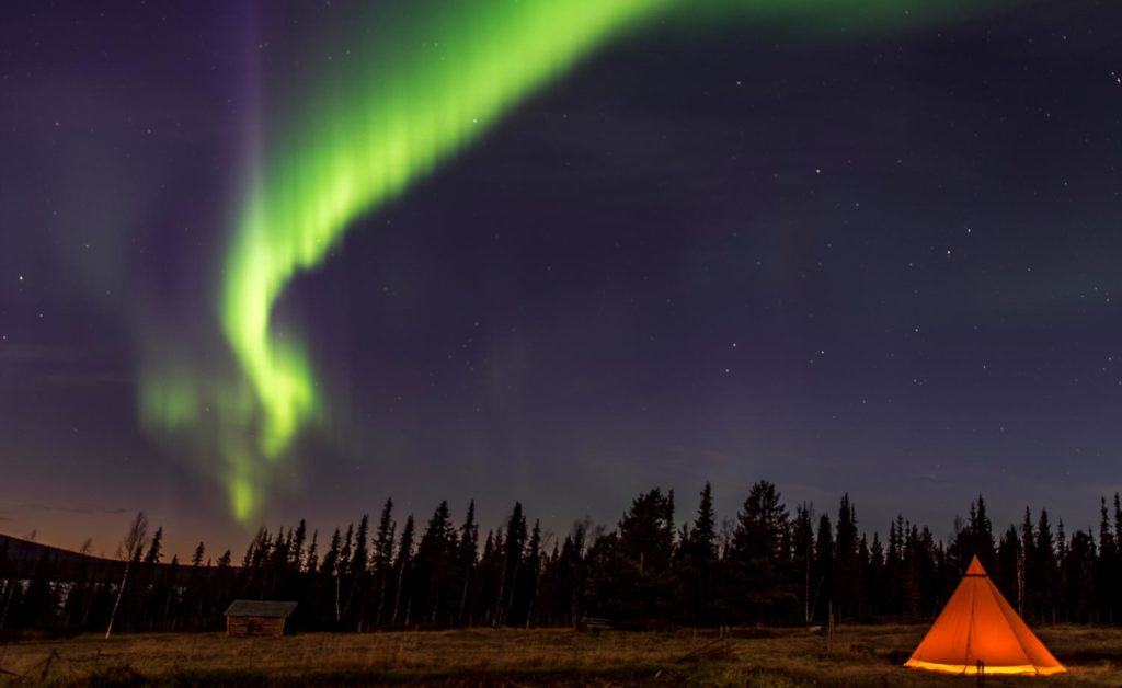 10 cool places to see the northern lights in Swedish Lapland