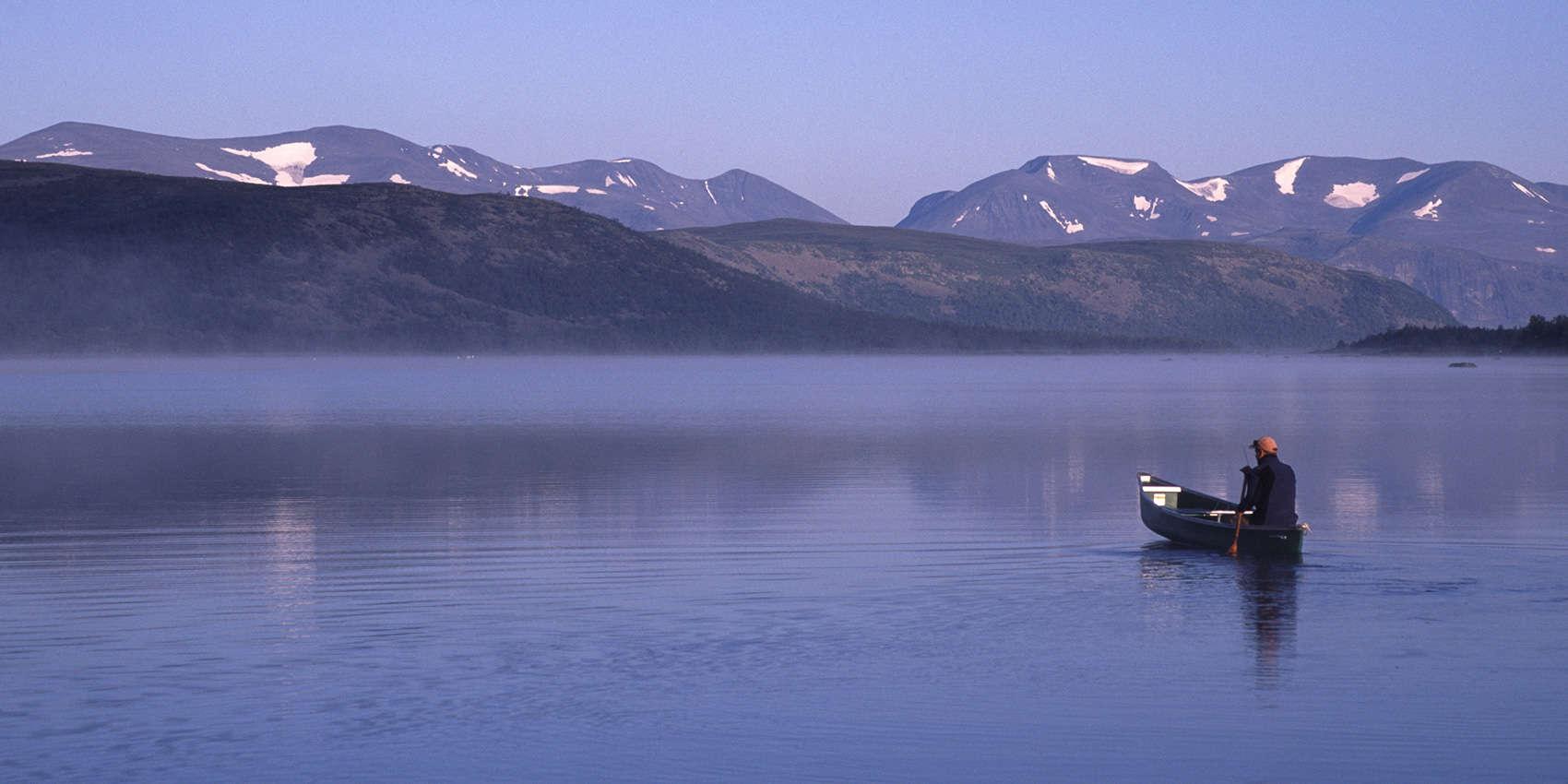 The Silence Of Tjuonajokk Swedish Lapland