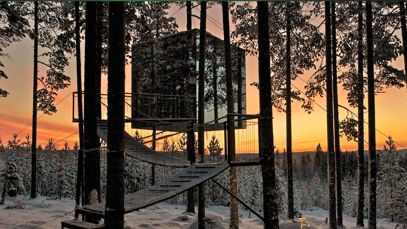 Treehotel, the perfect holiday hideaway