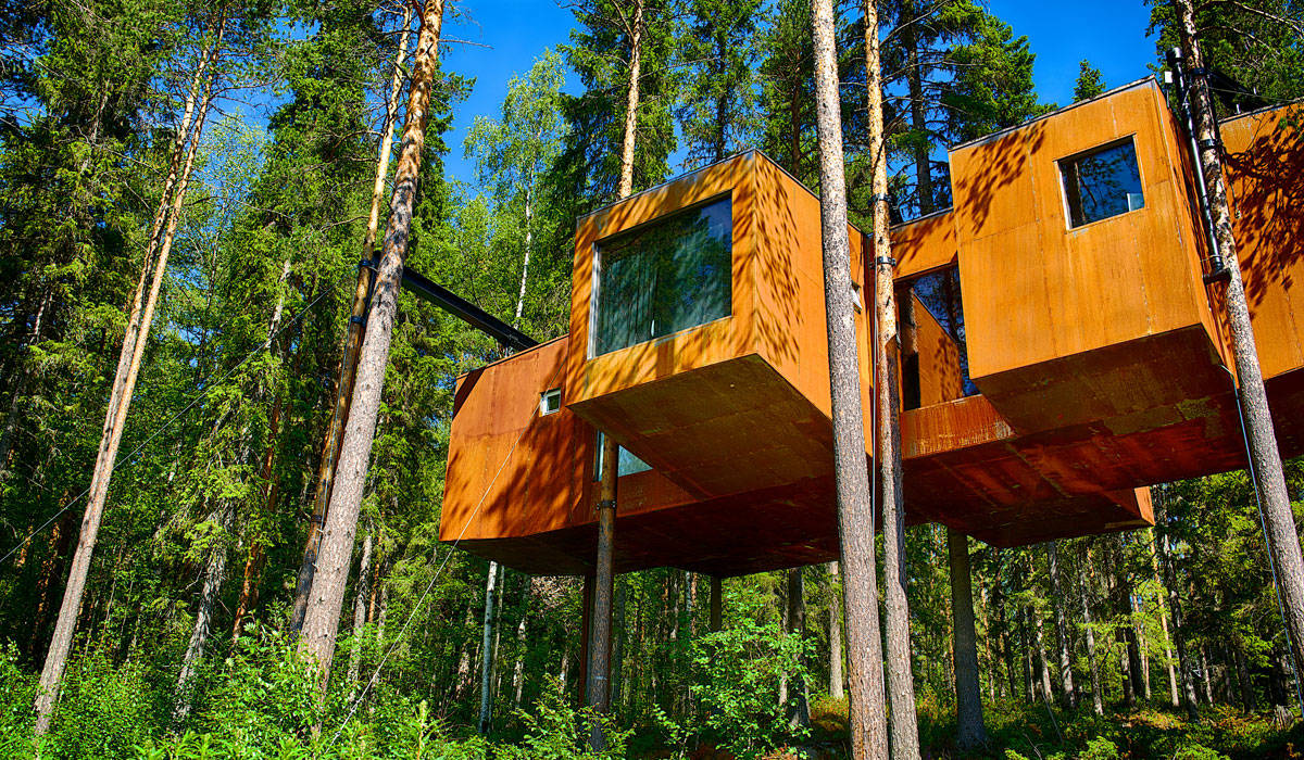 treehotel the perfect holiday hideaway swedish lapland. Black Bedroom Furniture Sets. Home Design Ideas